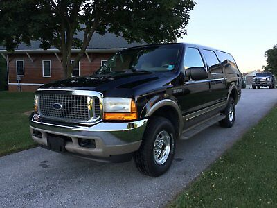 2000 Ford Excursion Limited 2000 Ford Excursion 4x4 Diesel Limited 7.3