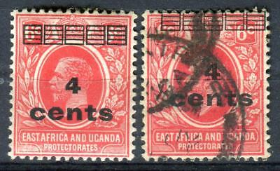 1919 British East Africa and Uganda Protect. Stamps,Overprint Sc#62 MLH/Used
