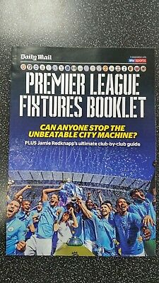 Premier League 2018 And 19 Football Fixtures Will Post 1St Class. Uk Seller
