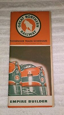 Great Northern Railway Timetable (1951) (#3)