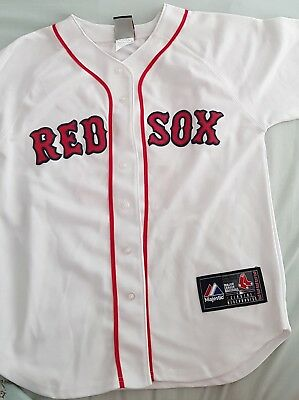 Majestic Boston Red Sox Official MLB Baseball Jersey Shirt Authentic