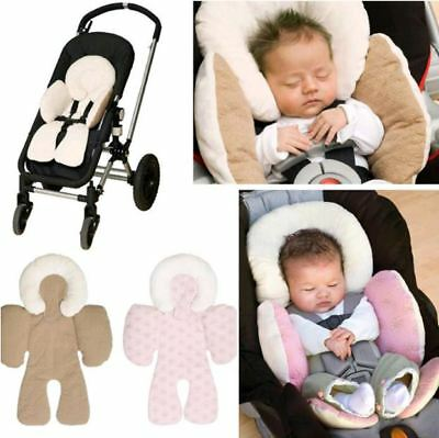 New Reversible Baby Infant Newborn Stroller & Car Seat Body Support Cushion Soft