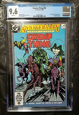Swamp Thing 50 Cgc 9.6 1St App Justice League Dark 1986 Dc Comics Movie Coming