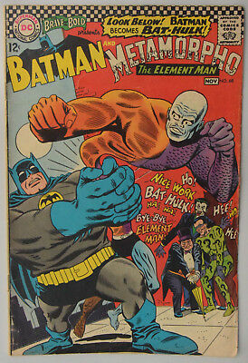 DC The Brave and the Bold #68 Batman and Metamorpho - FN