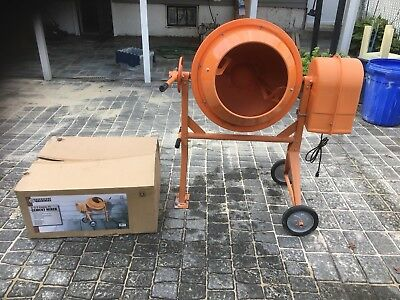 3.5 Cubic Foot Cement Mixer (used on only one project must see ) PICK UP ONLY !!