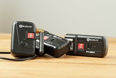 SLRKIT Wireless Flash Trigger and Receivers with sync cable