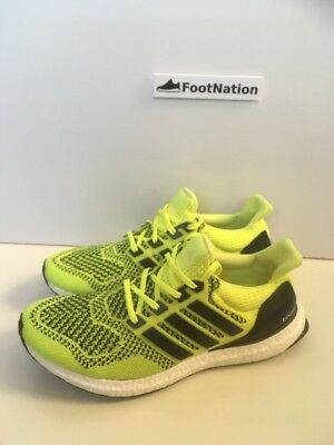 Adidas Ultraboost 1.0 Solar Yellow S77414 UK8 US8.5 Yellow Volt New Unworn  Rare 85ea776b7