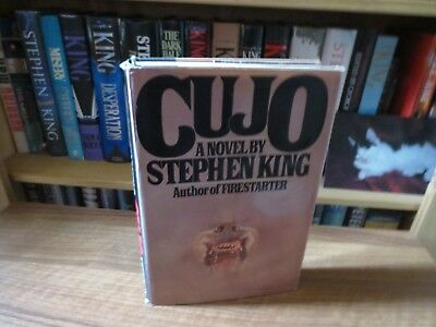 """""""Cujo"""" by Stephen King 1st Edition US 4th Print 1981"""