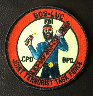 Rare, Vintage, Federal. Fbi Bos-Luc Joint Terrorist Task Force Patch