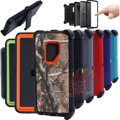 For Samsung Galaxy S9 Plus Defender Case (with Clip Fits Otterbox)