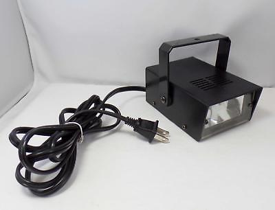 Mini Strobe Light model MSL-001 Halloween - Disco - DJ - Speed Control - Tested
