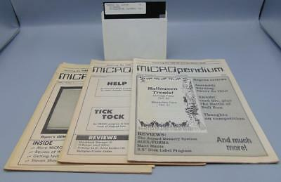 Texas Instruments TI-99/4A Micropendium Newsletter Lot