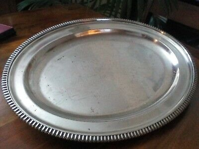 An Antique Silver Plated  platter /tray-William Hutton & sons/Sheffield.