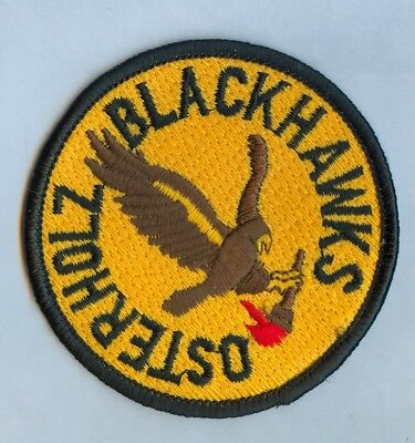 Army Jrotc Ssi:   Osterholz Blackhawks ..... Hard To Find!