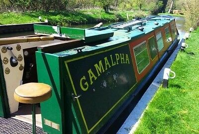 40ft Rugby built semi traditional live-aboard narrowboat