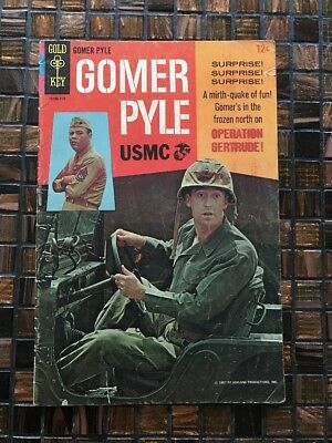 Gomer Pyle Issue #3 (Gold Key, 1967)