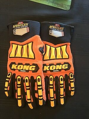 NEW KONG Ironclad Safety Impact WORK GLOVES Hand Protection Oil Gas