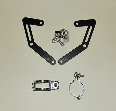 MT-03 Motorcycle Fork Mounted Headlight Brackets USD 50mm Clamps Streetfighter