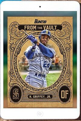 1f6ebfcf08 FROM THE VAULT GOLD KEN GRIFFEY JR. Topps Bunt Digital Card - $1.99 ...