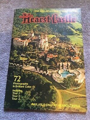 Magnificent Hearst Castle Souvenir Book with 72 Colored Photographs