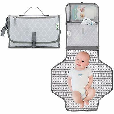 Baby Changing Pad, Portable Diaper Changing Pad, Diaper Bag Mat, Foldable Travel