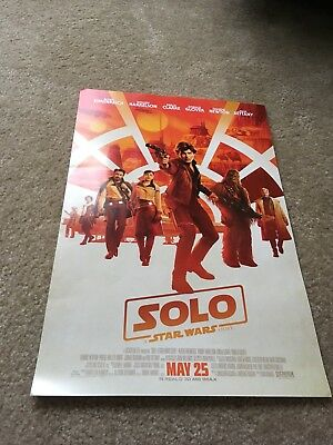 """Star Wars Solo Poster 20"""""""