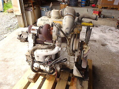 DETROIT DIESEL 3-53T TURBO ENGINE VIDEO! RUNS MINT 353 RARE !! GM