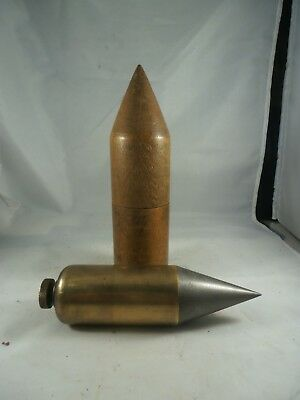 Bridge Plumb Large Brass Steel Tipped Wood Cased