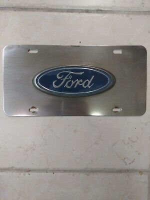 Antique Ford License Plate