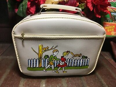 AWESOME!! Vtg. 1960-70's Childs Overnight/ Gone To Grandma's House Bag~NEAR MINT