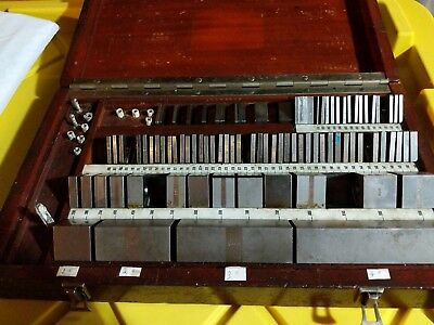 PRATT & WHITNEY Gauge Gage Block Set