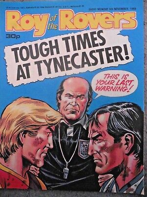 Roy Of The Rovers Comic 5/11/1988 Vintage Rare Vgc