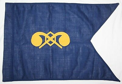 Original U.s. Army Chemical Corps Guidon, New Old Stock, 1990 Dated