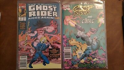 Marvel Comics - Ghost Rider/Cable & Ghost Rider Rides Again - #1's