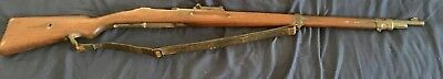 WWII Original German Mauser K98 Wood Stock, Barrel & Sling Only!