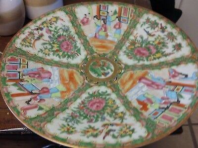 A Wonderful Perfect Chinese Porcelain Famille Rose Wu Shuang Pu Plate