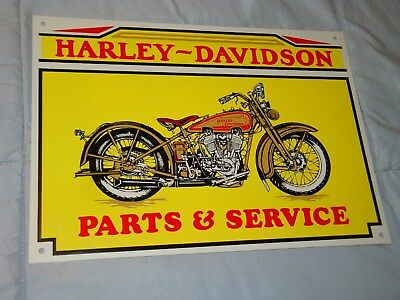 Harley Davidson tin - metal sign 10X14