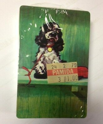 Vintage Cocker Spaniel Playing Cards - Sealed - Butch Dog