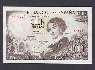 -Auction- Spain 1965 100 Pesetas