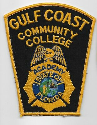 RARE OLD Gulf Coast Comm College Police Academy State Florida FL Patch