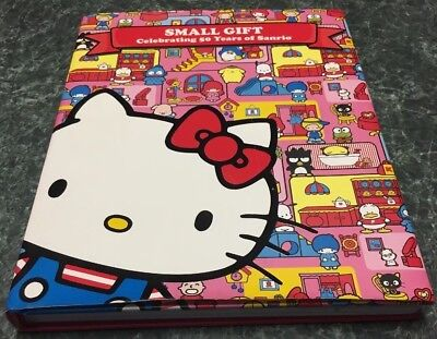 Hardback Hello Kitty Small Gift 50 Years Collectors Book, FREE Shipping!