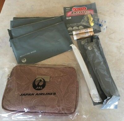 JAL amenity kit  Etro business class. Plus extras.  All unopened