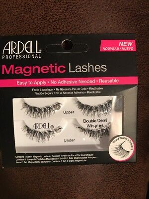 9d52f268c9a ARDELL PROFESSIONAL MAGNETIC Lashes: Double Demi Wispies, Black ...