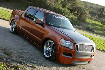 2007 Ford Explorer Sport Trac  Only 1,500 miles concept SEMA Show sport truck system bagged air ride custom