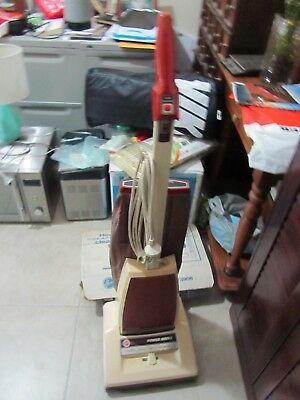 Vintage Hoover Concept One Power Drive Vacuum Cleaner U3906 Working order