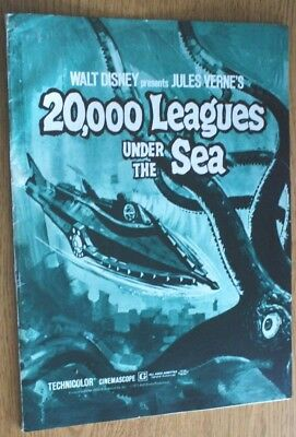 Walt Disney's 20,000 Leagues Under The Sea - Advance Exhibitor's Campaign Book
