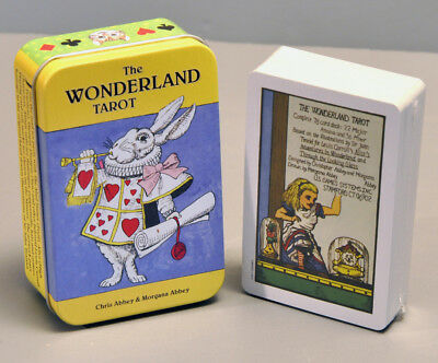 The Wonderland Tarot In A Tin - Sealed, New - Complete 78 Card Tarot Deck