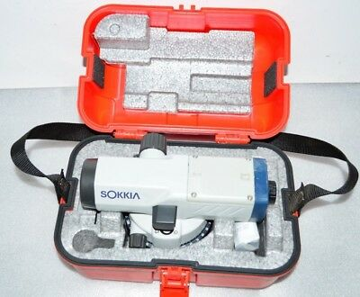 Sokkia B40A Automatic Level, 24x Magnification with case