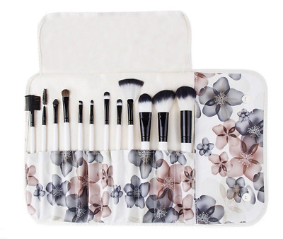 Professional 12pcs  Make Up Cosmetic Makeup Brushes Kit Set with Case Great Gift
