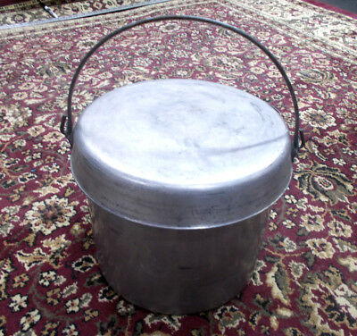Boy Scout Patrol Trail Chef Cook Kit Cooking Camping gear w/8 Qt. pot, FastShip